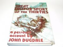 Great Motor Sport of the Thirties (Dugdale 1977)